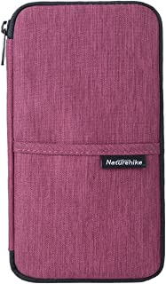 Naturehike Multifunctional Travel Wallet Passport Wallet with Hand Strap, Passport Holder Travel Organizer Wallet for Card Money Ticket Mobile