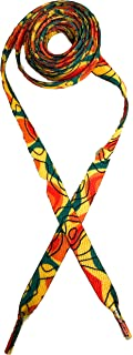 HoopSwagg Printed Shoelace 10mm Colorful Vibrant