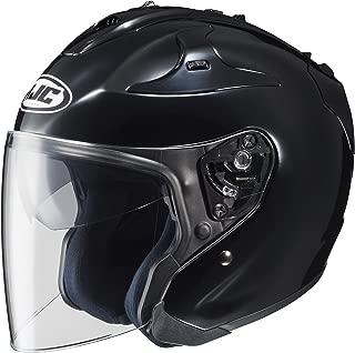 HJC Solid FG-JET 3/4 Open Face Motorcycle Helmet - Black/X-Large
