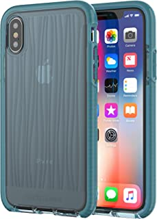 tech21 - Phone Case Compatible with Apple iPhone X - Evo Wave - Teal