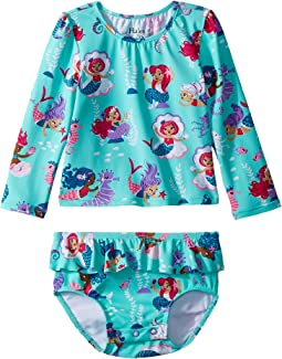 Hatley Kids - Underwater Kingdom Mini Rashguard Set (Infant)