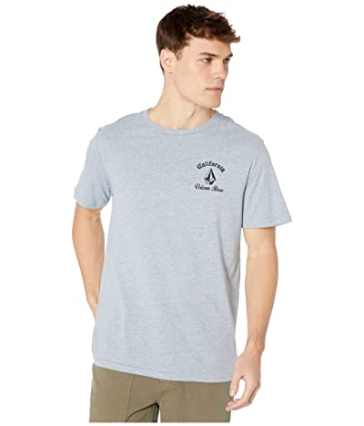 Volcom Cali Bear Short Sleeve Tee (Arctic Blue) Men