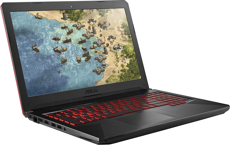 "ASUS TUF Gaming Laptop FX504 15.6"" 120Hz 3ms Full HD, Intel Core i7-8750H Processor, GeForce GTX 1060 6GB, 16GB DDR4, 256GB PCIe SSD + 1TB HDD, Gigabit WiFi, Windows 10 Home - FX504GM-ES74"