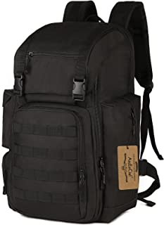 Tactical Backpack Military Army Shoes Bags Daypack Assault Pack Bug Out Bag Molle Rucksack - Rain Cover Included