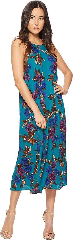 American Rose - Maisey Spaghetti Strap Floral Midi Dress