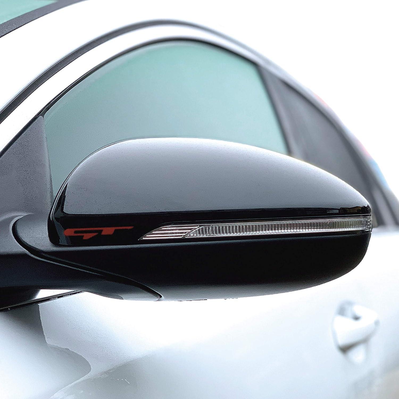 P054 Spiegelaufkleber Gt Auto Spiegelaufkleber Aufkleber Oracal 751c Karminrot Auto