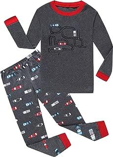 Children Pajamas Boys Pjs Cotton Toddler Kids Sleepwear Set 100% Cotton