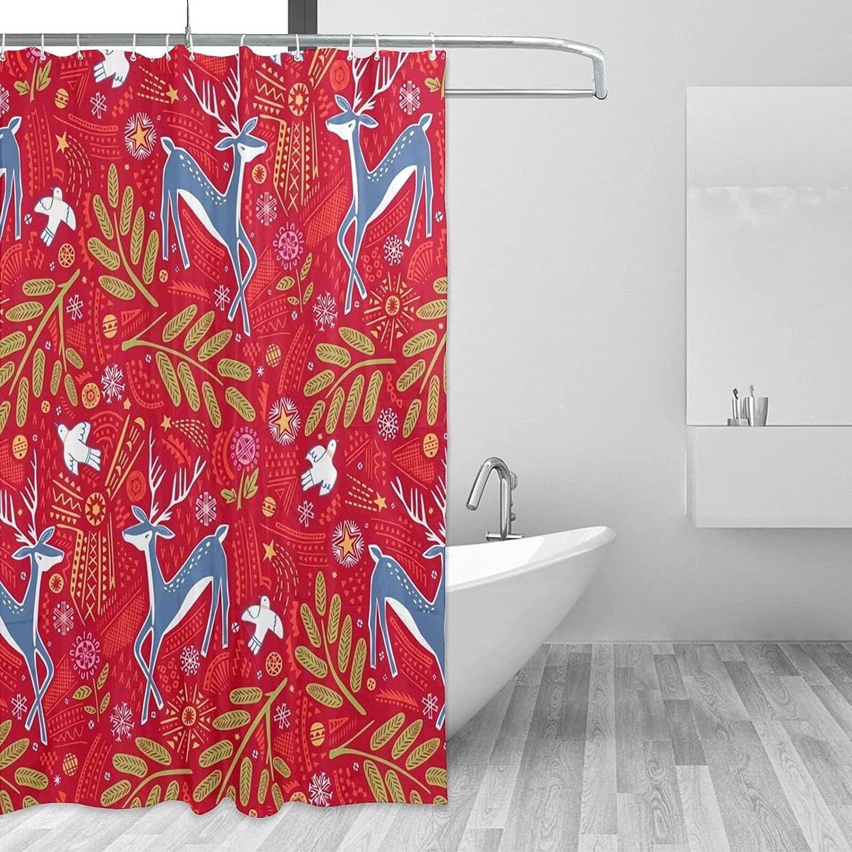 ~ Fresno Superior Mall Elk Bathroom Shower Curtain with a 72