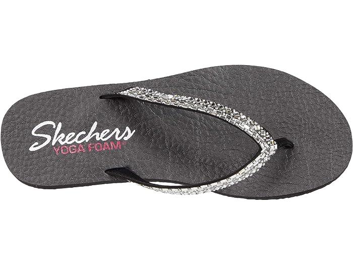 Skechers Womens Meditation Shine Away Slip On Mule