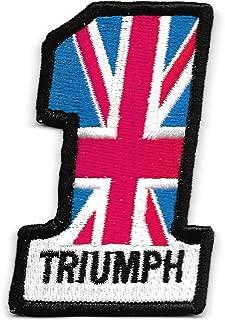 vintage triumph motorcycle patches