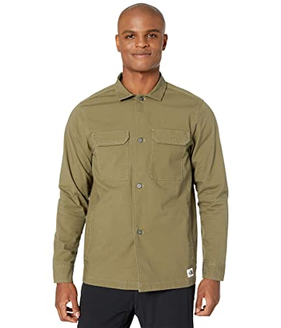 The North Face Battlement Jacket (Burnt Olive Green) Men