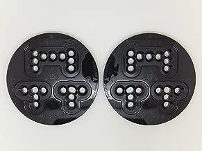 Unidisc Burton Snowboard 3 & 4 Hole Binding Mountain Plates Disc's