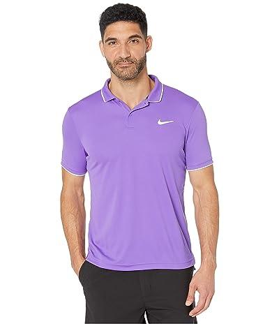 Nike NikeCourt Dry Polo Team (Psychic Purple/White/White) Men