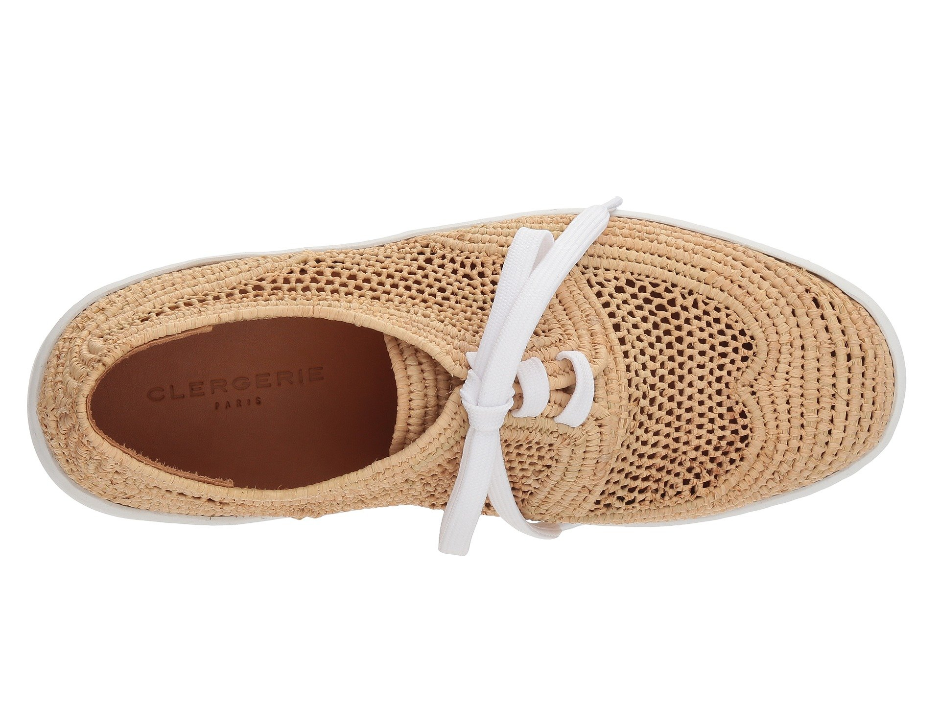 Natural Taille Raffia Clergerie Clergerie Taille tR0qnx4Y