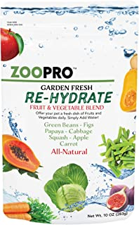 Exotic Nutrition Garden Fresh Re-Hydrate - High Calcium Fruit & Vegetable Mix