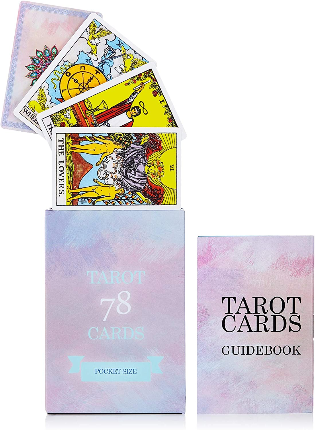 MandAlimited 78 Tarot Cards Deck Size Guidebook Quality inspection Popular - Pocket with