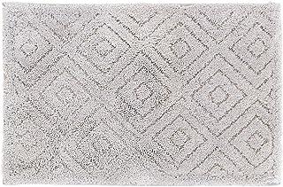 オカ(OKA) 浴室足ふきマット グレー 約36cm×55cm 乾度良好ピュール バスマット (吸水 速乾 抗菌 防臭) 4548622708622