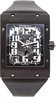 RM-016 Mechanical (Automatic) Skeletonized Dial Mens Watch RM016 AL TI (Certified Pre-Owned)
