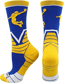 MadSportsStuff Victory Basketball Socks with Player in Crew Length