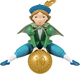 Best Hallmark Keepsake Ornament 2020, Twelve Days of Christmas Ten Lords-a-Leaping Review