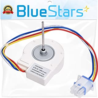 Ultra Durable WR60X10185 Evaporator Fan Motor Replacement Part by Blue Stars - Exact Fit For GE & Hotpoint Refrigerators - Replaces WR23X10353 WR23X10355 WR23X10364, PS1019114, AP3875639
