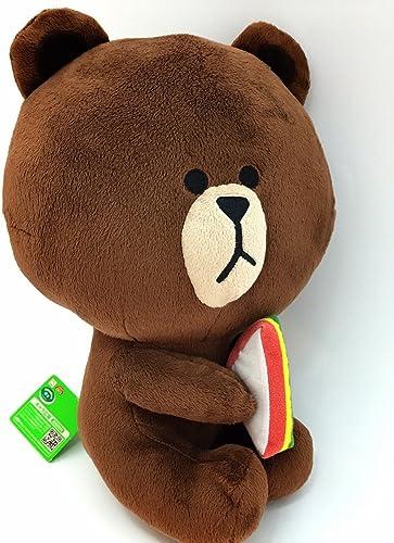 comprar barato HELLO FRIENDS LINE park park park dating BIG stuffed marrón  60% de descuento