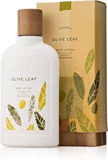 Thymes - Olive Leaf Body Lotion - With Moisturizing Shea Butter, Vitamin E and Olive Oil - 9.25 oz
