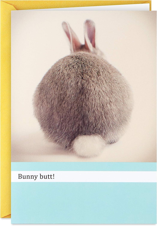 Hallmark Max 74% OFF Shoebox Funny 2021 Easter Bunny Butt Card