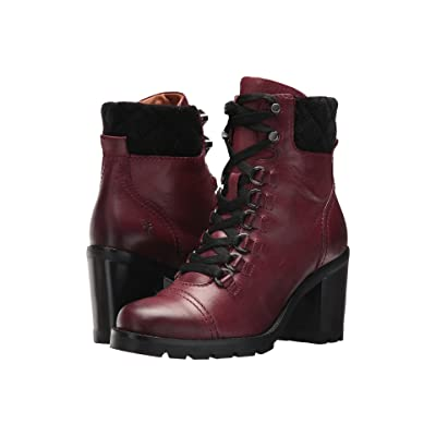 Frye Addie Hiker (Burgundy) Women