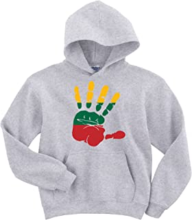 Dalesbury Lithuania Flag Palm Hoodie Sweater