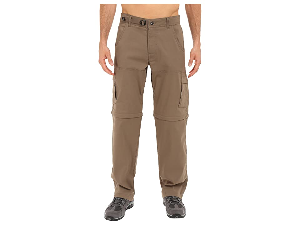 Prana Stretch Zion Convertible Pant (Mud) Men