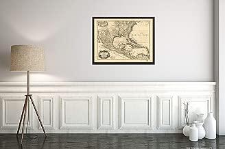 1783 Map Subject: Mexico North America United States Title: Carte du Mexique et des Etats UNIS d'Ame