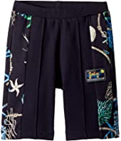 Shorts w/ Sea Shore Design on Sides (Big Kids)