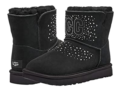 UGG Classic UGG Bling Mini (Black) Women