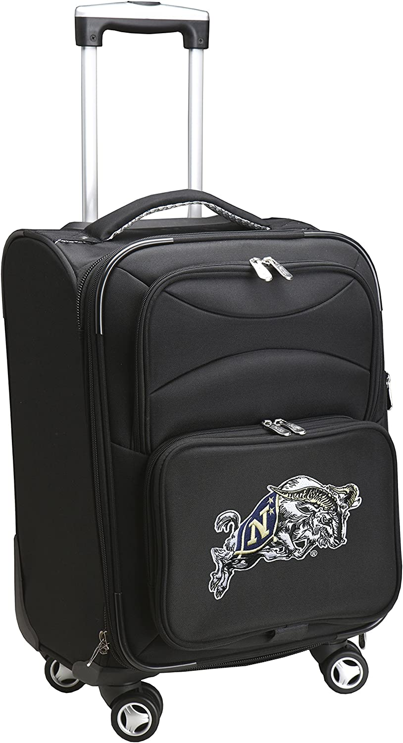 Denco NCAA Domestic Carry-On Spinner 20-Inch Black