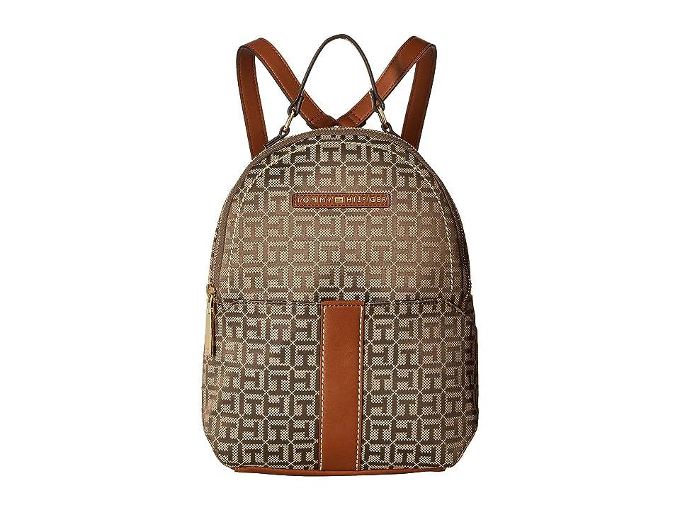 Tommy Hilfiger Raina Backpack (Tan/Dark Chocolate) Backpack Bags