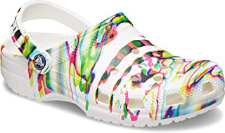 Unisex-Adult Classic Tie Dye Clog | Comfortable Slip on Water Shoes