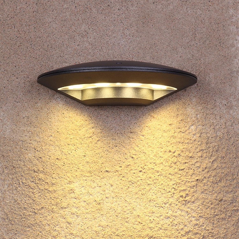 Auenwandleuchten Modernen Minimalistischen Schwarz LED Auenwandleuchte Wasserdicht Hof Wandleuchte Balkon Terrasse rostfrei Wandleuchte