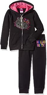 Girls' 2 Piece Hoodie and Pant Fleece Active Set