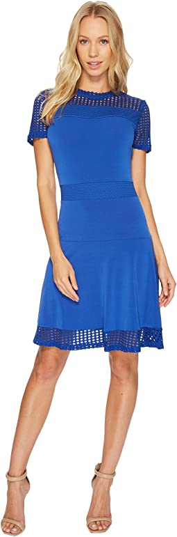 MICHAEL Michael Kors - Mesh Combo Dress