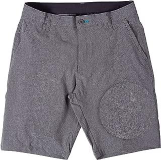 Hybrid Stretch Shorts for Mens Lightweight Boardshorts Grey
