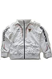 Lamborghini Squadra Corse Ladies Womens Black Windbreaker Team Jacket Coat