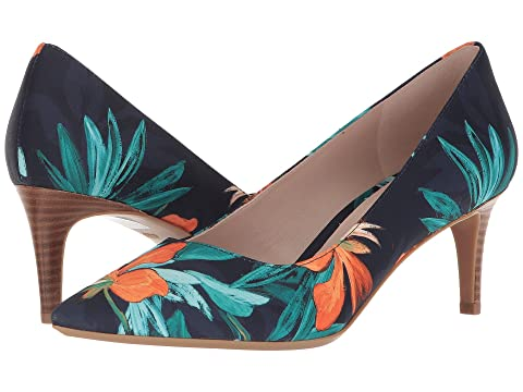 a867b1c3935 ... Xaeden Strappy Heel Sandal - Pink Suede. Nine West Soho9x9  a  - Navy  Multi Fabric