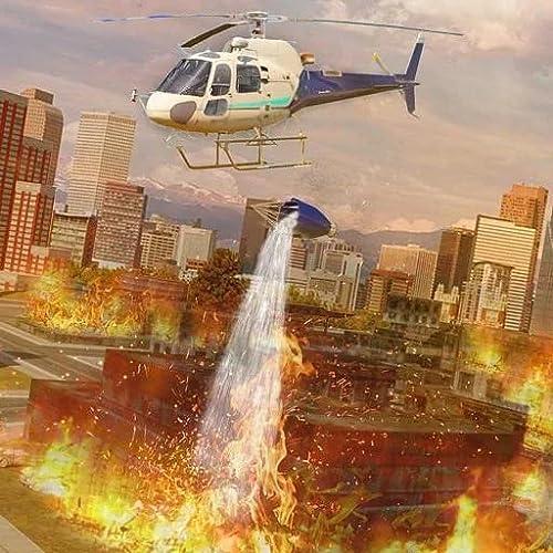Stadt Hubschrauber 911 Retten Simulator Luft Krankenwagen Fliegen Spiele zum Kinder FREI