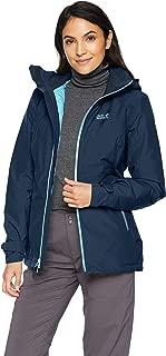 Jack Wolfskin Women's Karelia Trail Waterproof Insulated Rain Jacket
