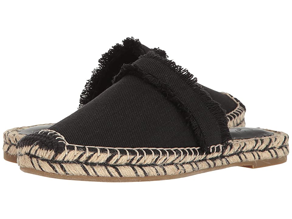 Joie Cain (Black Denim Frayed Edge) Women