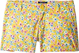 Floral Poplin Shorts (Little Kids/Big Kids)