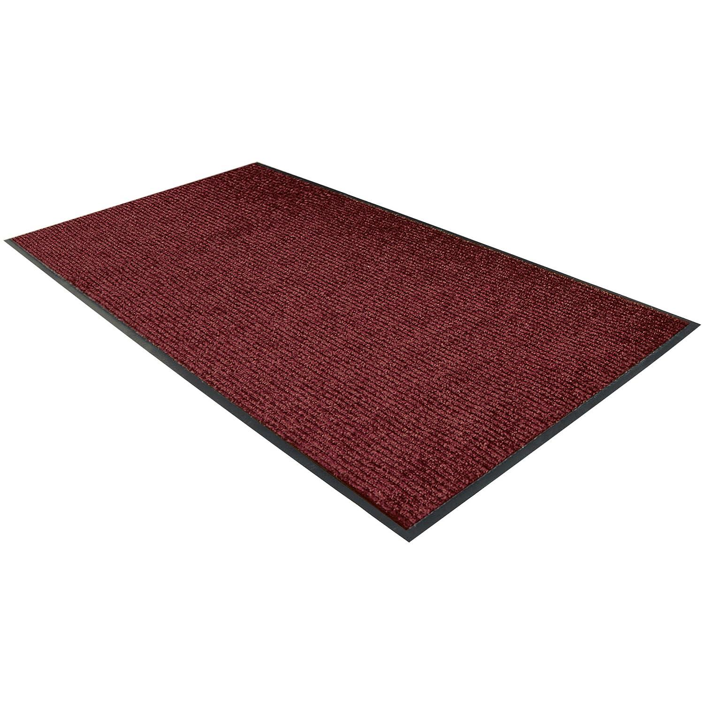 OFFicial Deluxe Vinyl Carpet Mat 3' Red High material Each 1 6' x