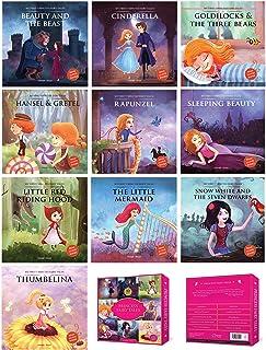 Princess Fairy Tales Boxset : A Set of 10 Classic Children Fairy Tales (Abridged and Retold)
