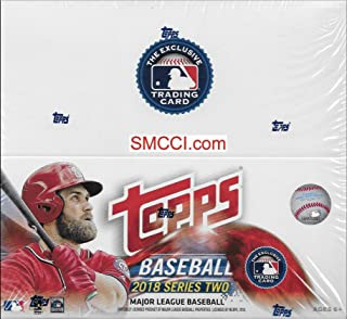 2018 Topps Baseball Series 2 Factory Sealed Retail Box of 24 Packs 288 Cards